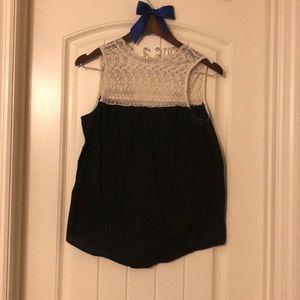 Zara Laced top